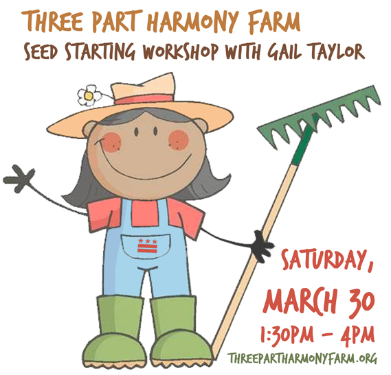 Three Part Harmony Farm Seed Starting Workshop with Gail Taylor