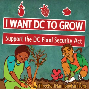 Support the DC Food Security Act of 2014