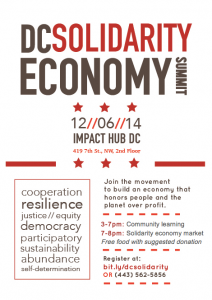 DC Solidarity Economy Summit