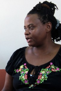 Miriam Miranda, Leader of National Black Fraternal Organization of Honduras (OFRANEH)
